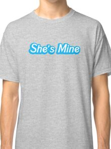 She's MINE cute couple design with Matching He's mine Classic T-Shirt