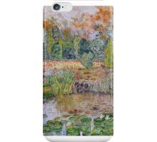 MY GARDEN - water colour iPhone Case/Skin