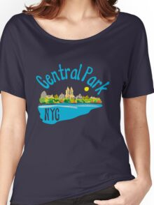 Central Park NYC Women's Relaxed Fit T-Shirt