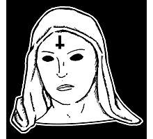 Satanic Mary Photographic Print