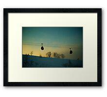 Arvo Gondolas Framed Print