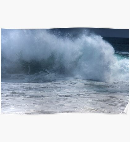 Crashing Wave (The Wedge, Newport Beach, California) Poster