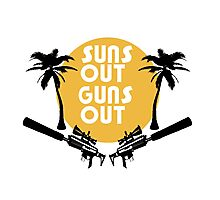 Suns Out Guns Out - H1Z1 Photographic Print