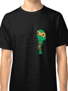 HIDDEN TMNT michelangelo ! Classic T-Shirt