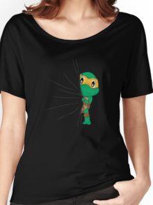 HIDDEN TMNT michelangelo ! Women's Relaxed Fit T-Shirt