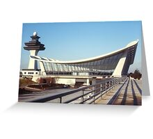 Dulles Airport, Washington DC Greeting Card