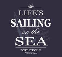 Life's sailing on the sea Hoodie