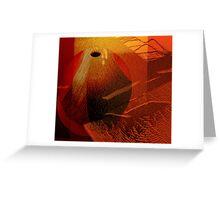Abstract ceramic Greeting Card
