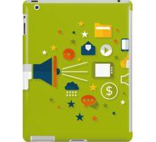 Advertising a megaphone iPad Case/Skin