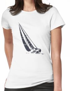 Sailingboat Womens Fitted T-Shirt
