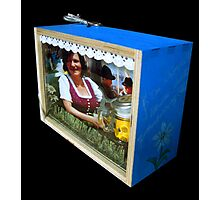 bavarian waitress Photographic Print