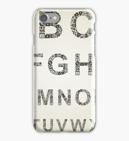 Alphabet business iPhone Case/Skin