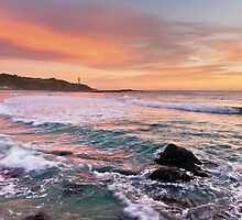 Sunrise at Soldiers Beach #4 by Mathew Courtney