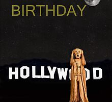 The Scream World Tour Hollywood Happy Birthday by Eric Kempson