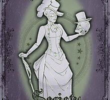 The Dark Victorian Society by Elizabeth Watasin