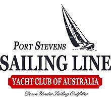 Sailing line Photographic Print