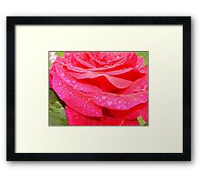 Layer upon layer... Framed Print