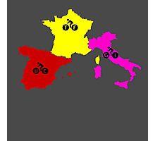Giro - Tour - Vuelta Photographic Print