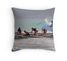 2011 Lorne surf carnival (08) Throw Pillow