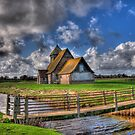 The Church in the Marsh - St Thomas a Becket,Fairfield by brianfuller75