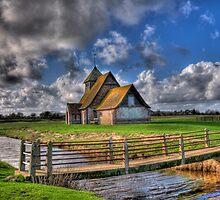 The Church in the Marsh - St Thomas a Becket,Fairfield by brianfuller75