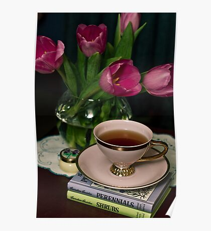 Still Life with Tea Cup Poster