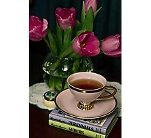 Still Life with Tea Cup Photographic Print