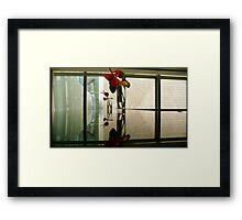 the ever scintilating space of sensation surrealism Framed Print