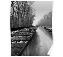 Low view of tracks.....One-track mind Poster