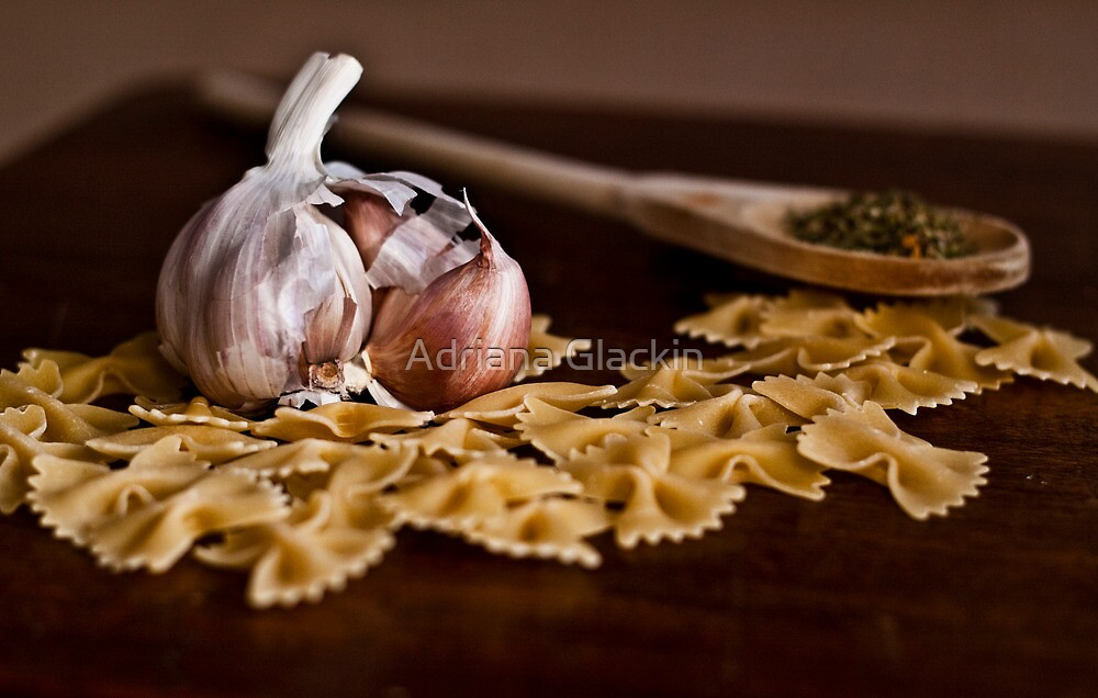 Still Life with Garlic by Adriana Glackin