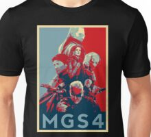 Metal Gear Solid 4 poster Unisex T-Shirt