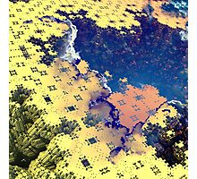 Toxic Paste - Abstract Fractal Photographic Print