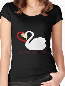 Swan Queen Sweater 2.0 Women's Fitted Scoop T-Shirt