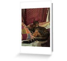 Ella(Nora) Rigby Greeting Card