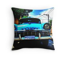 I'm Livin in tha 60's Baby !! Throw Pillow