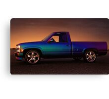 CHEVY SILVERADO  Canvas Print