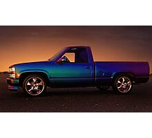 CHEVY SILVERADO  Photographic Print