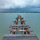 Cleveland Jetty - Qld by Beth  Wode