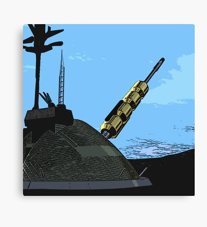 The Gun Canvas Print