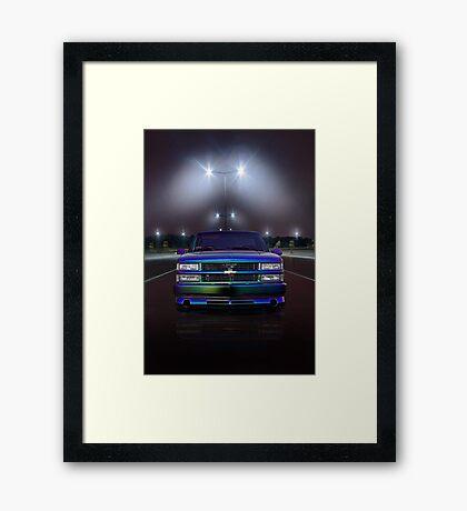CHEVY SILVERADO Framed Print