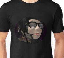 Neo Baroque portrait of a robot librarian  Unisex T-Shirt