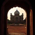 Safdarjung's Tomb, Delhi by Christopher Cullen