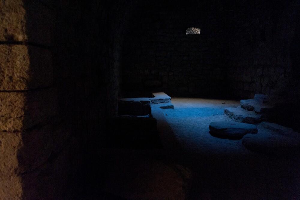 Deep inside Karak Castle by Mark Prior