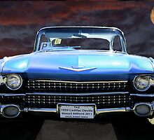 1959 Cadillac Deville-Render by Khrome Photography