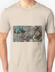 Foggy Mind - Abstract Fractal Unisex T-Shirt