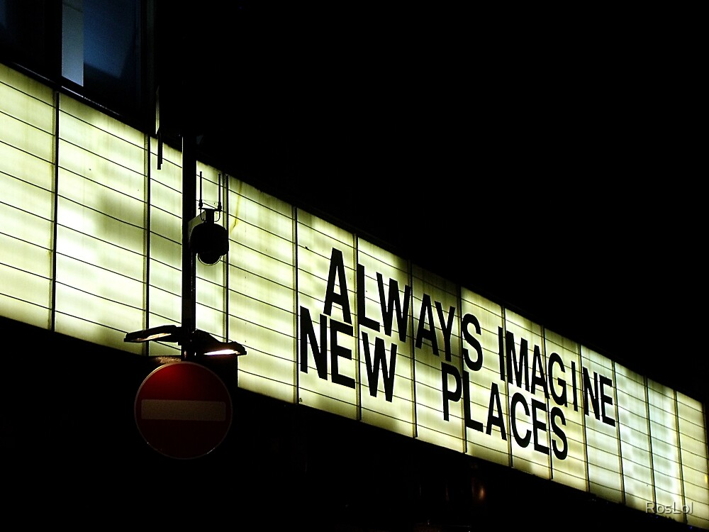 Always imagine new places by RosLol