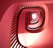 Purple stairs by RosLol