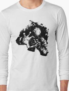 Leroy (Messy Ink Sketch) Long Sleeve T-Shirt