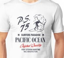 Surfers Paradies - Pacific Ocean Surfing Unisex T-Shirt