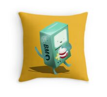 Oh BMO, how'd you get so pregnant? Throw Pillow